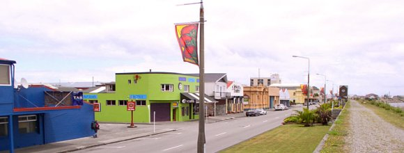 Greymouth downtown