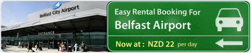 Easy rental booking for Belfast Airport