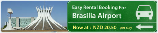 Easy rental booking for Brasilia Airport