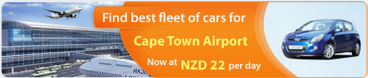 Find best fleet of cars for Cape Town Airport
