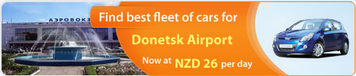 Find best fleet of cars for Donetsk Airport