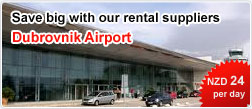 Save big with our rental suppliers Dubrovnik Airport
