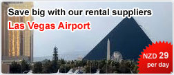 Save big with our rental suppliers Las Vegas Airport
