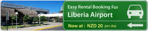 Easy rental booking for Liberia Airport