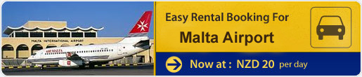 Easy rental booking for Malta Airport