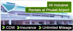 All Inclusive Rentals at Phuket Airport