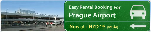 Easy rental booking for Prague Airport